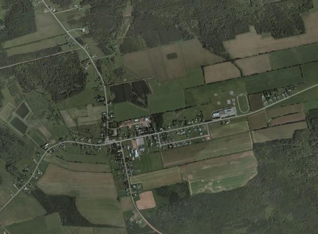2010 Aerial Photo Abram-Village